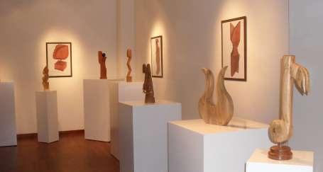 Ahşap sanatları sergisi
