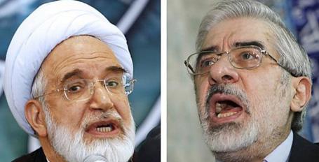 İran'da iki muhalif lider tutuklandı