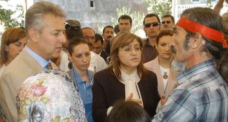 Vali, bakandan daha AKP'li!