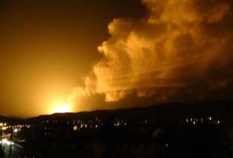 Doğalgaz boru hattında büyük patlama!