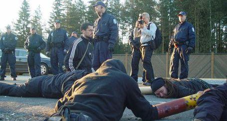 Finlandiya'da nükleer santral protestosunda 35 gözaltı