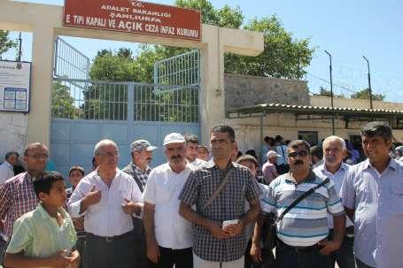 EMEP Heyeti Şanlıurfa Cezaevi'nde