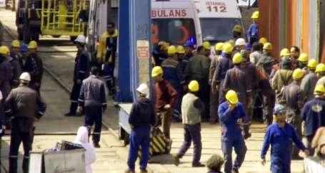 Tersanede patlama: 2 ölü 7 yaralı