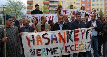Yaşam düşmanı bankalara Hasankeyf vetosu