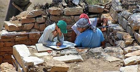 2200 yıllık yazıt bulundu