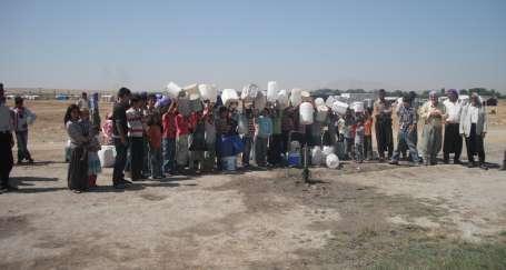 Mevsimlik tarım işçilerine susuzluk işkencesi