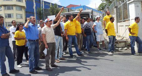 DHL işçilerine UPS işçisinden destek