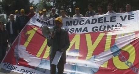 Sakarya'da 1 Mayıs çağrısı