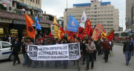 Emperyalist işgale tepkiler sürüyor