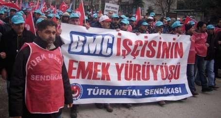 BMC işçisi intihar etti