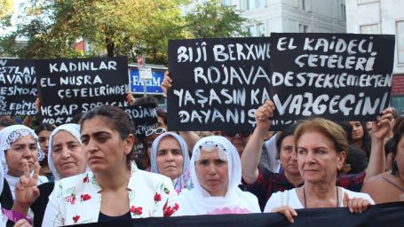 HDK Kadın Meclisinden Rojavalı kadınlara destek