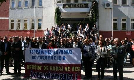Dersim'de barajlara karşı mücadele çağrısı