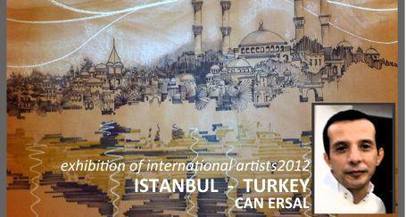 'Sketch of İstanbul' uluslararası sanatçılar sergisinde