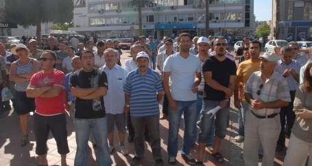 DİSK'in kampanyası Aliağa'da