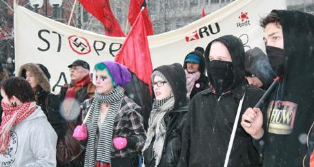 Oslo'da ırkçılığa karşı eylem yapıldı