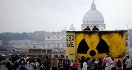 İtalyan halkından nükleere geçit yok