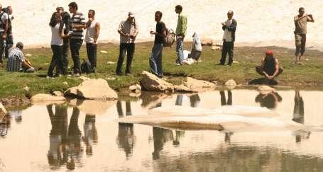 Dersim'de barajlara karşı doğa kampı kuruldu