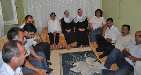 Zana'dan ilk ziyaret İbrahim Oruç'un ailesine