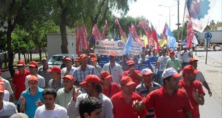 Organizede 15-16 Haziran eylemi