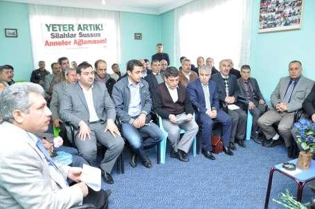 Siverek'te 50 kurum barış için bir araya geldi