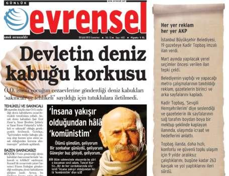 Her yer reklam her yer AKP!
