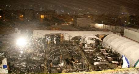 Esenyurt'ta Marmara Park AVM'de yangın: 11 işçi yaşamını yitirdi