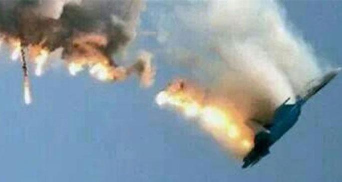AA\'nın düşen uçak fotoğrafı sahte çıktı
