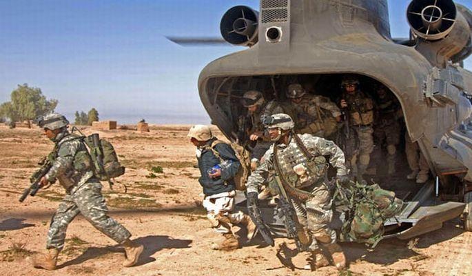 ABD, 100 askerle Bağdat Büyükelçiliği\