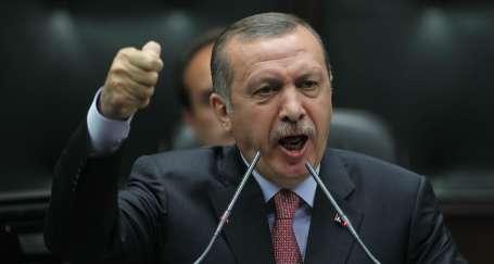 Erdoğan kükredi, bendini çiğneyip taştı