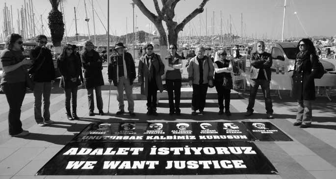 Adalet nöbetinde 23. hafta tamamlandı