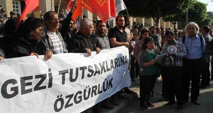 Adana'daki Gezi davasında 8 tahliye