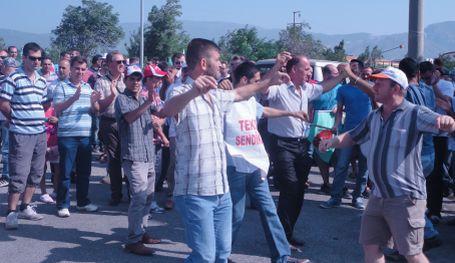 Söktaş'da yüzde 100 grev
