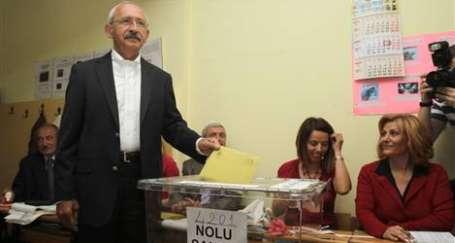 Kılıçdaroğlu bu kez oy kullanabildi