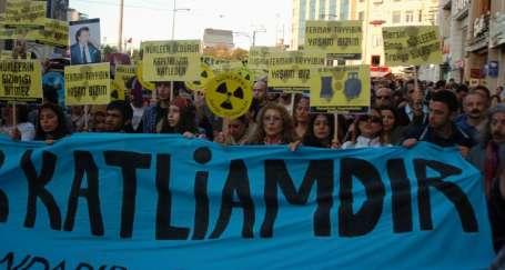 'Nükleer bitmeyen katliamdır'