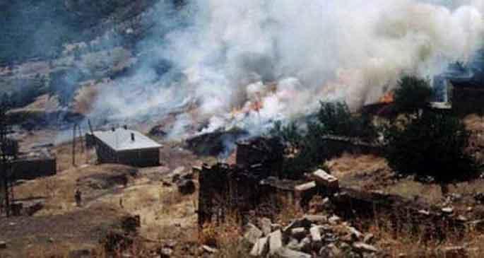 AİHM köy bombardımanında Türkiye\'yi mahkum etti