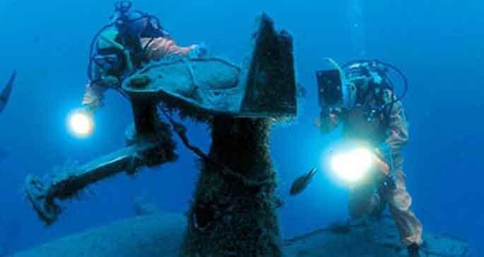 Akdeniz'de 'batık' turizmi