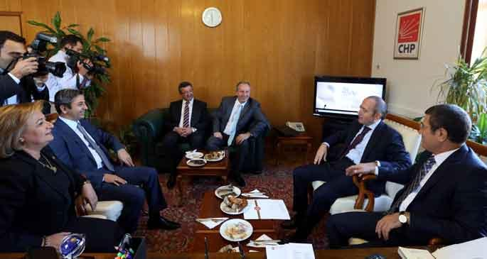 AKP anayasada topu CHP'ye attı