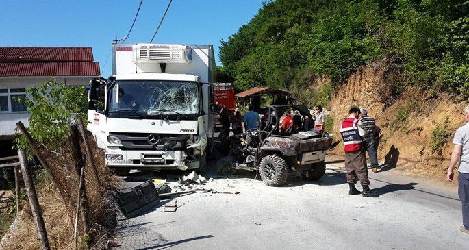 Ali Şen\'in torunu kazada öldü