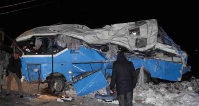 'Allaha emanet' midibüs 11 kişiye mezar oldu