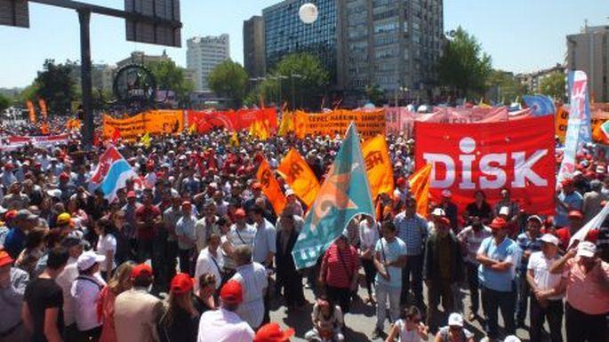 Ankara'da 3 farklı alanda 1 Mayıs
