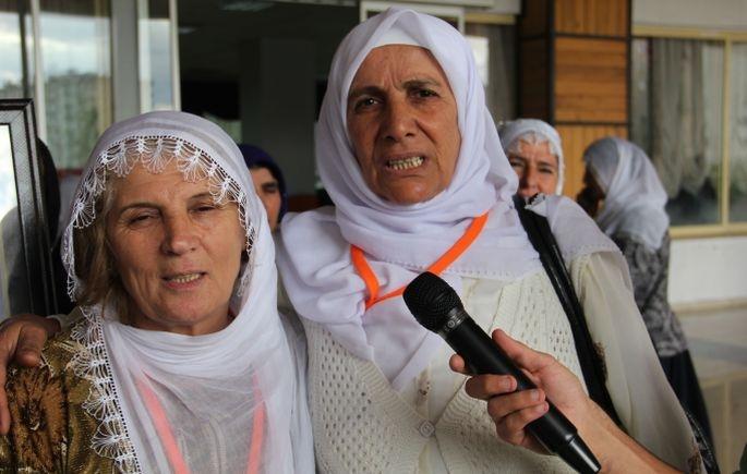 Konferans sona erdi: Anneler barış istiyor