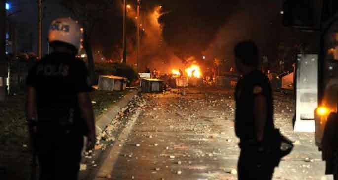 Antalya Gezi iddianamesi polisin küfürlerinden geçilmiyor