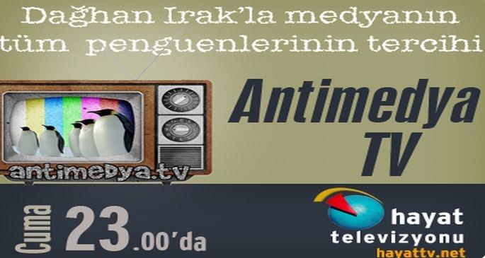 AntiMedya TV başlıyor