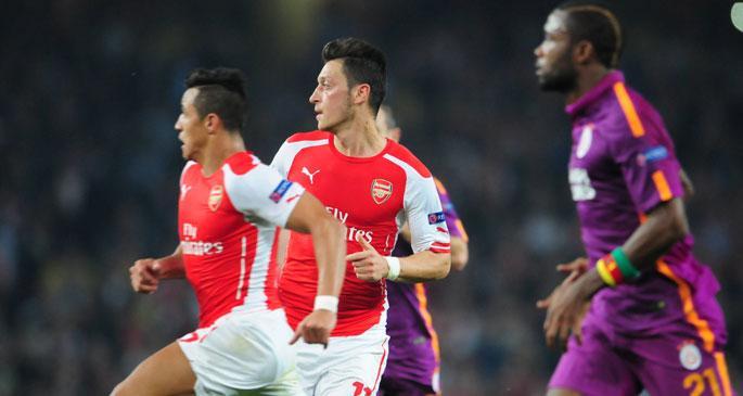 Arsenal, Galatasaray'ı Londra'dan 4-1'le gönderdi