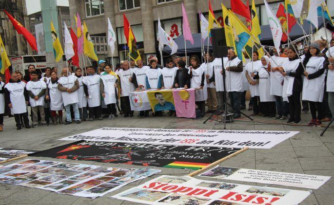 Avrupa'daki Kürtler açlık grevlerine başladı