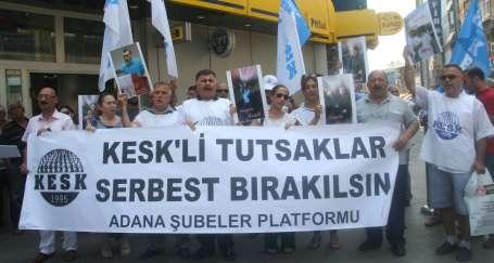 Katiller serbest KESK'liler tutuklu
