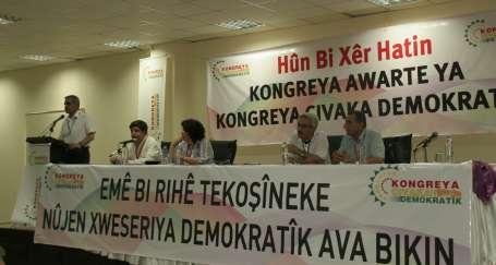 DTK Demokratik Özerkliği ilan etti
