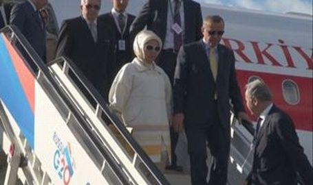 Erdoğan, G20 için St. Petersburg