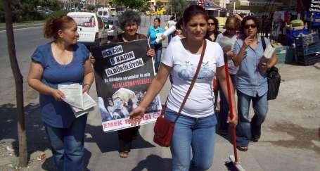 Mamaklı Kadınlar 'Şiddete Hayır' Dedi