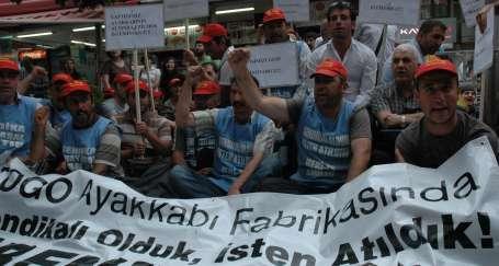 Togo işçileri Togo mağazasında!